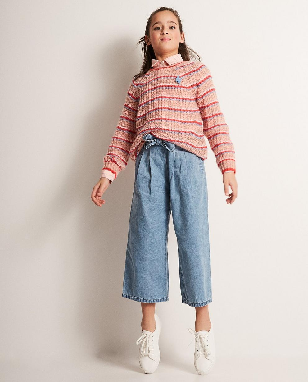 Gestreifter Pullover aus einer Wollmischung - Ketnet - Ketnet